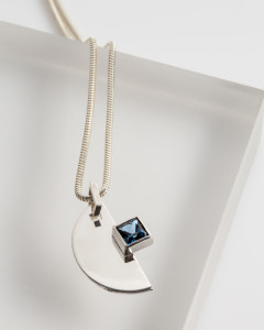 New Piece for the Stone Collection with a London Blue Topaz