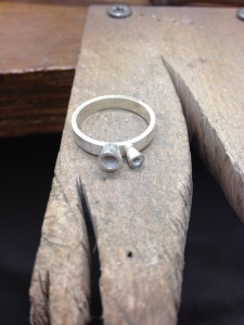 In the making of the 2 diamond ring