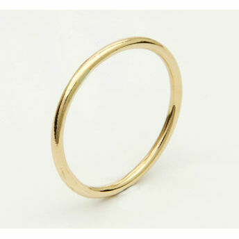 9ct Gold Thin Stacking Ring