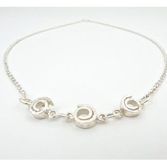 Silver Spiral Necklace