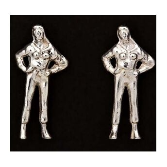Iconic Collection 'Woman with Attitude' Earrings
