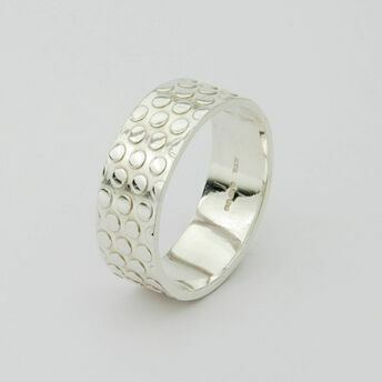 Silver Dotty Ring