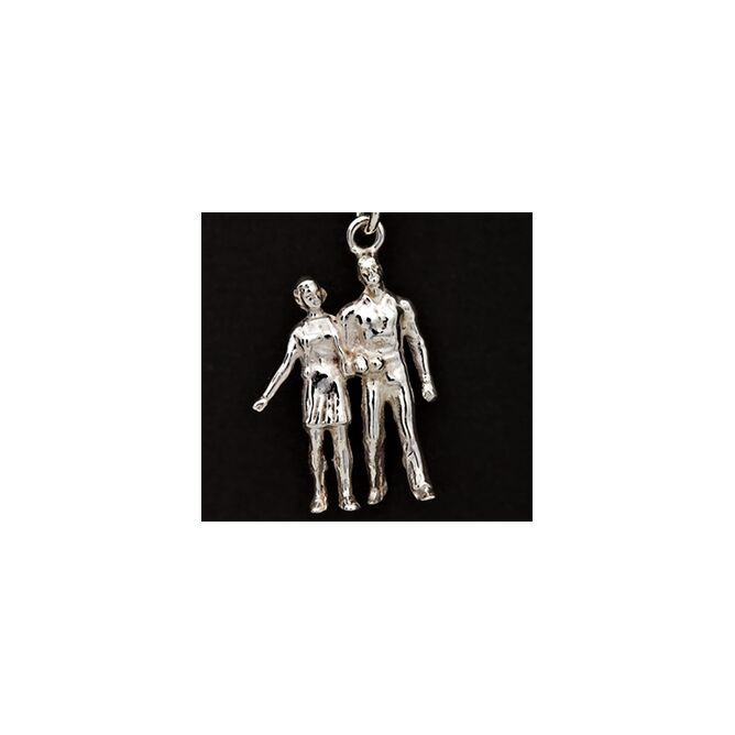 Iconic Collection 'Love' Silver Earrings